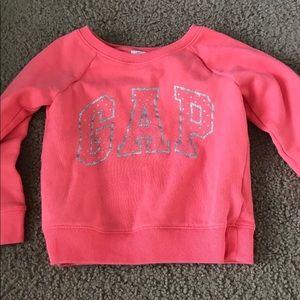 Toddler glitter sweatshirt